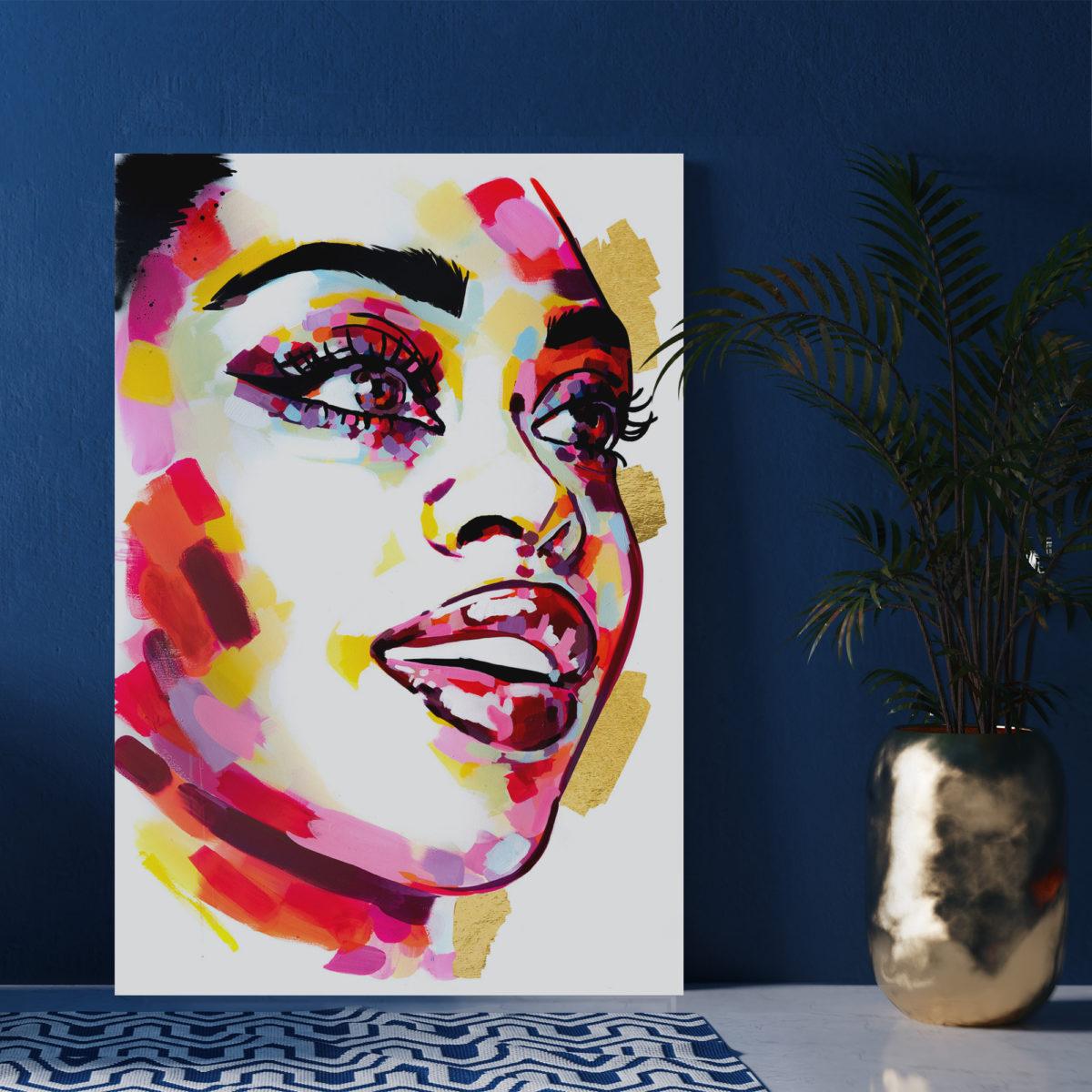 Sophie Bastien Colorful painting
